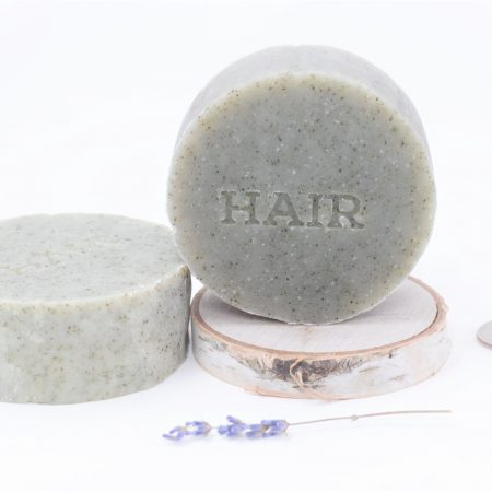 shampoo helmet hair puck 5 oz