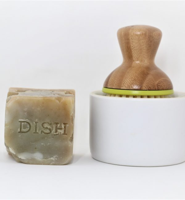 dish soap block disoblox scrub brush