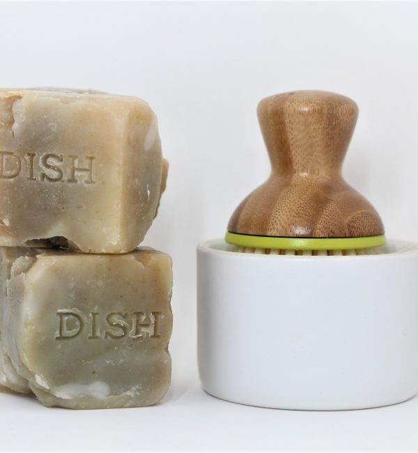 dish soap block disoblox scrub brush duo
